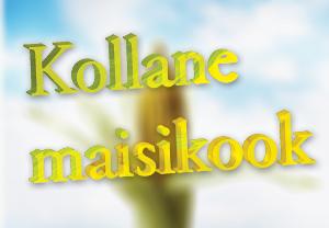 Retsept - kollane maisikook Sojapood Merike Tärk