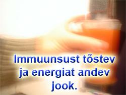 Immuunsust tõstev ja energiat andev jook - Maca