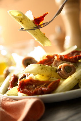 Pasta - paikesekuivatatud  tomatid