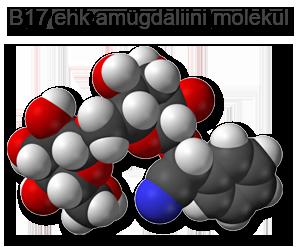 Amügdaliini molekul