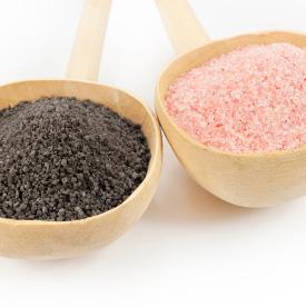 Himaalaja soolad - roosa sool , must sool