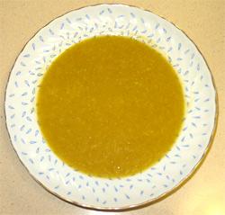 Kamuti-kõrvitsa supp
