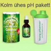 Kolm ühes pH toitumise pakett