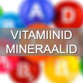 Vitamiinid, mineraalid